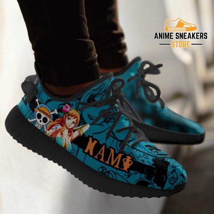 Nami Yeezy Shoes One Piece Anime Fan Gift Tt04