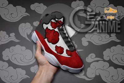 Akatsuki Cloud Sneakers Naruto Anime Custom Shoes Tt09 Jd13