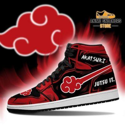 Akatsuki Sneakers Cloud Jutsu It Naruto Anime Shoes Mn05 Jd