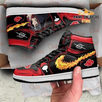 Akatsuki Itachi Sneakers Naruto Anime Shoes Fireball No Jutsu! Men / Us6.5 Jd