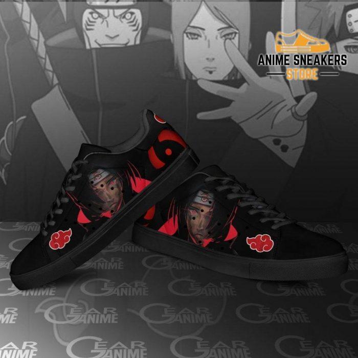 Akatsuki Itachi Skate Shoes Naruto Anime Custom Pn09