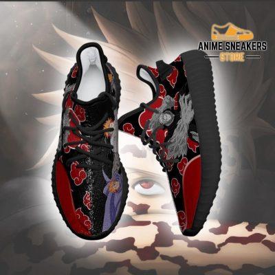 Akatsuki Jugo Yeezy Shoes Naruto Anime Sneakers Fan Tt03