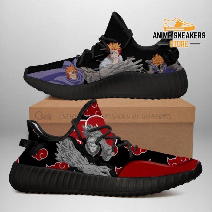 Akatsuki Jugo Yeezy Shoes Naruto Anime Sneakers Fan Tt03 Men / Us6
