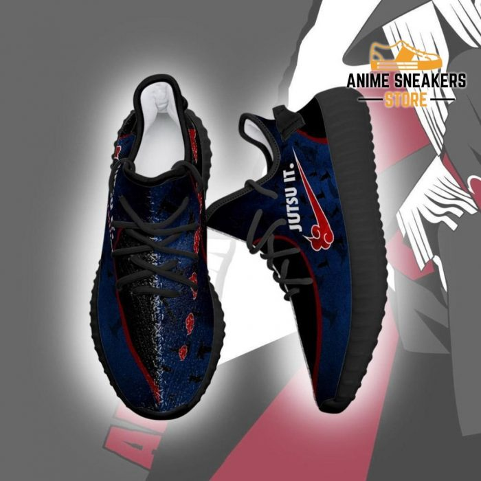 Akatsuki Jutsu It Yeezy Shoes Naruto Anime Fan Tt04