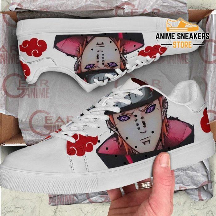 Akatsuki Nagato Pain Skate Shoes Naruto Anime Custom Pn09