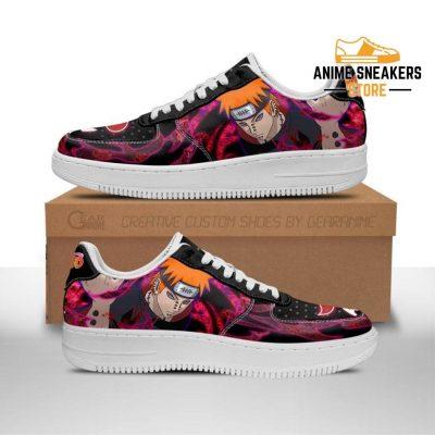 Akatsuki Pain Sneakers Custom Naruto Anime Shoes Leather Men / Us6.5 Air Force