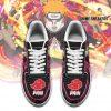 Akatsuki Pain Sneakers Custom Naruto Anime Shoes Leather Air Force