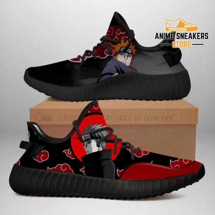 Akatsuki Pain Yeezy Shoes Naruto Anime Sneakers Fan Tt03 Men / Us6