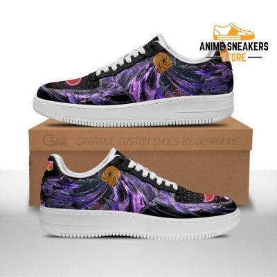 Akatsuki Tobi Sneakers Custom Naruto Anime Shoes Leather Men / Us6.5 Air Force
