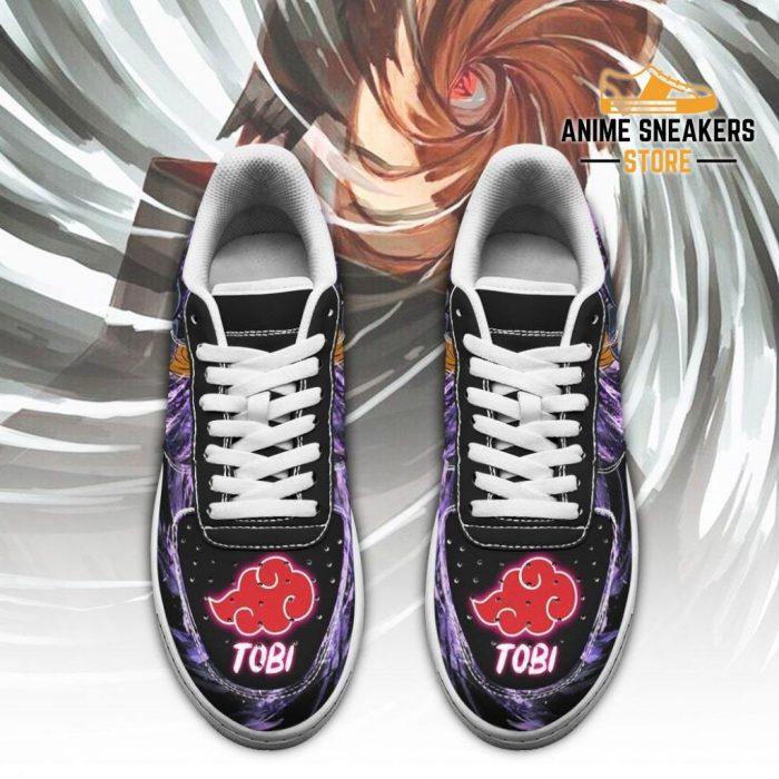 Akatsuki Tobi Sneakers Custom Naruto Anime Shoes Leather Air Force