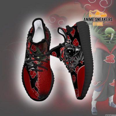 Akatsuki Zetsu Yeezy Shoes Naruto Anime Sneakers Fan Tt03