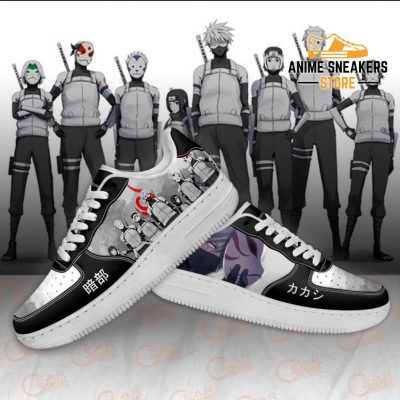 Anbu Black Ops Shoes Naruto Anime Custom Pt10 Air Force