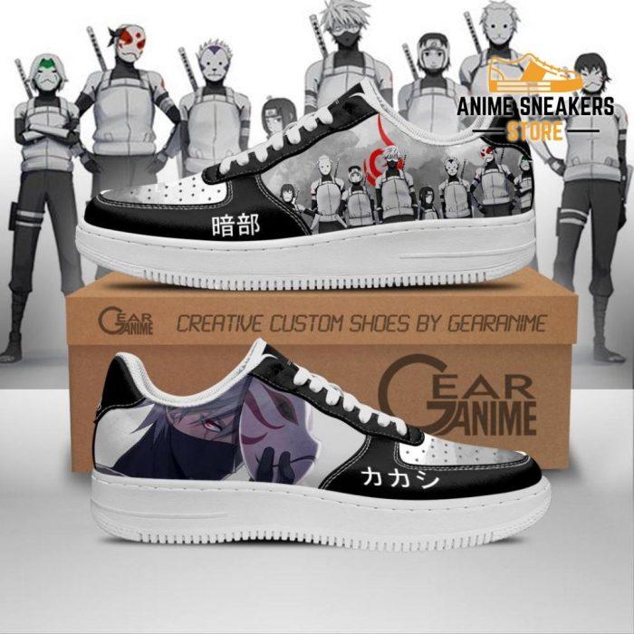 Anbu Black Ops Shoes Naruto Anime Custom Pt10 Men / Us6.5 Air Force