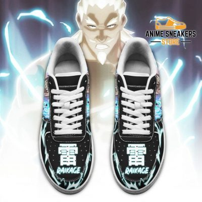 Fouth Raikage Sneakers Custom Naruto Anime Shoes Leather Air Force