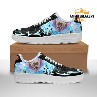Fouth Raikage Sneakers Custom Naruto Anime Shoes Leather Men / Us6.5 Air Force