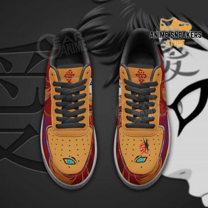 Gaara Sneaker Naruto Anime Custom Shoes Jutsu Skill Air Force