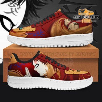 Gaara Sneaker Naruto Anime Custom Shoes Jutsu Skill Men / Us6.5 Air Force