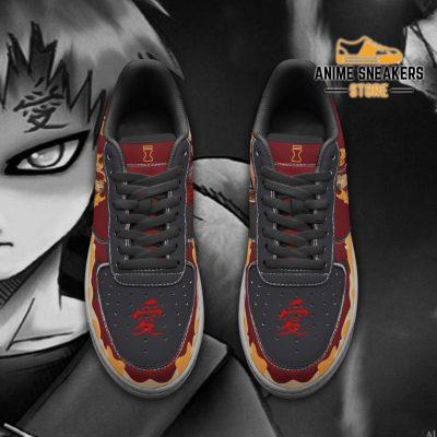 Gaara Sneakers Naruto Anime Shoes Custom Air Force