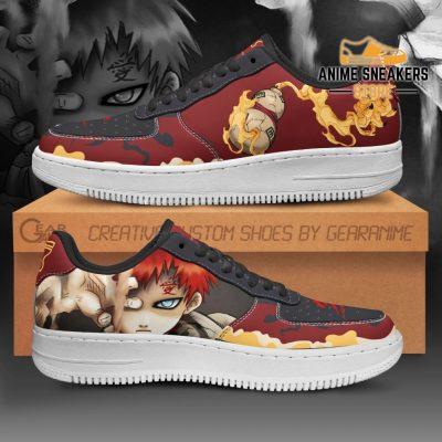 Gaara Sneakers Naruto Anime Shoes Custom Men / Us6.5 Air Force
