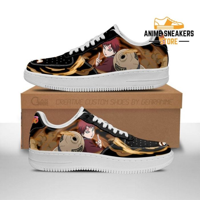 Gaara Sneakers Custom Naruto Anime Shoes Leather Men / Us6.5 Air Force