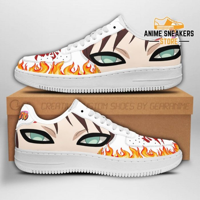 Gaara Eyes Sneakers Naruto Anime Shoes Fan Gift Pt04 Men / Us6.5 Air Force