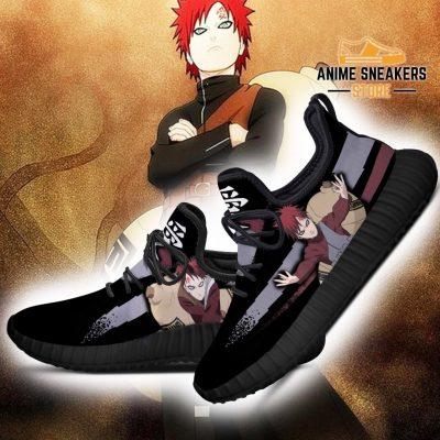 Gaara Jutsu Reze Shoes Naruto Anime Fan Gift Idea Tt03