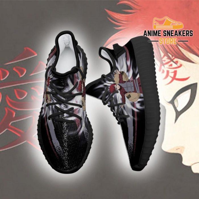 Gaara Jutsu Yeezy Shoes Naruto Anime Fan Gift Idea Tt03
