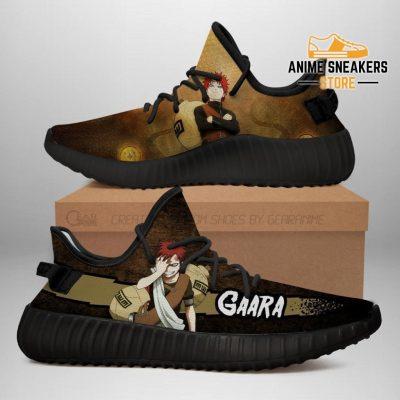 Gaara Yeezy Shoes Naruto Anime Sneakers Fan Gift Tt03 Men / Us6