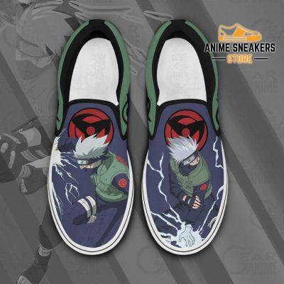 Hatake Kakashi Slip On Shoes Naruto Custom Anime Pn12 Men / Us6 Slip-On