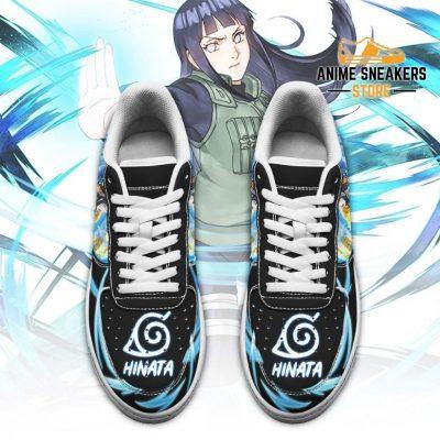 Hinata Hyuga Sneakers Custom Naruto Anime Shoes Leather Air Force