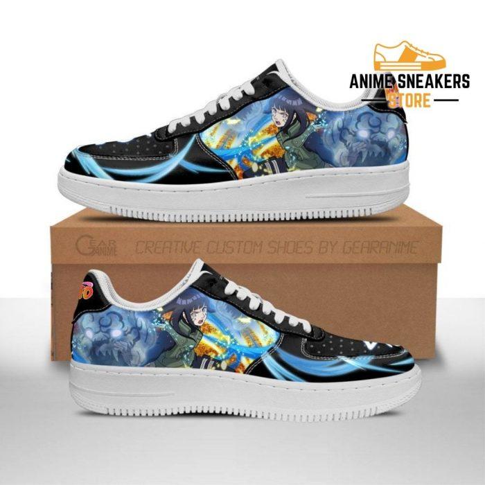 Hinata Hyuga Sneakers Custom Naruto Anime Shoes Leather Men / Us6.5 Air Force