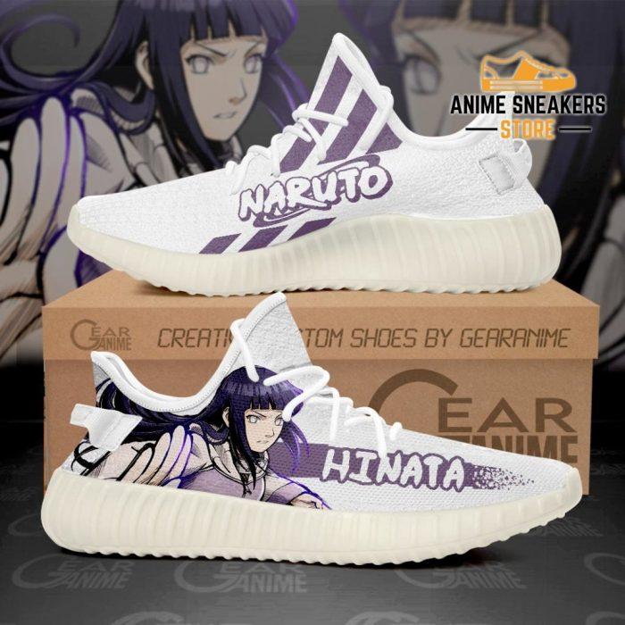 Hyuga Hinata Shoes Naruto Custom Anime Sneakers Tt10 Men / Us6 Yeezy