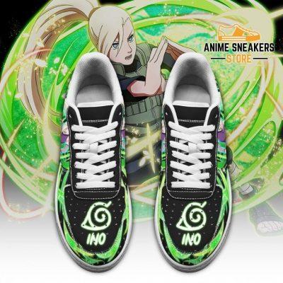 Ino Yamanaka Sneakers Custom Naruto Anime Shoes Leather Air Force