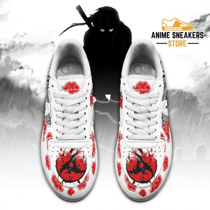 Itachi Akatsuki Sneakers Naruto Anime Custom Shoes Pt10 Air Force