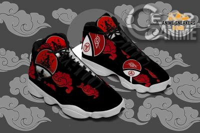 Itachi Akatsuki Sneakers Naruto Anime Custom Shoes Tt09 Jd13