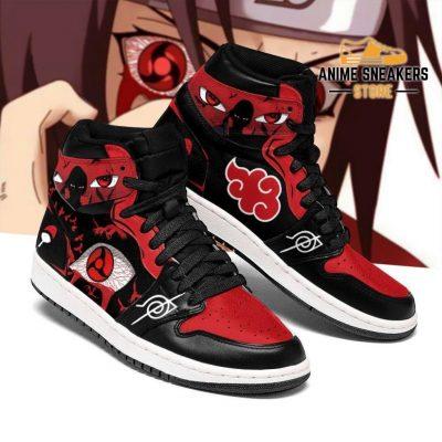 Itachi Akatsuki Sneakers Sharingan Eyes Shoes Naruto Anime Jd