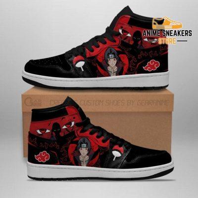Itachi Jutsu Sneakers Akatsuki Naruto Anime Shoes Jd