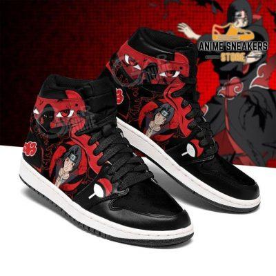 Itachi Jutsu Sneakers Akatsuki Naruto Anime Shoes Men / Us6.5 Jd