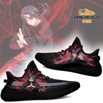 Itachi Jutsu Yeezy Shoes Naruto Anime Fan Gift Idea Tt03