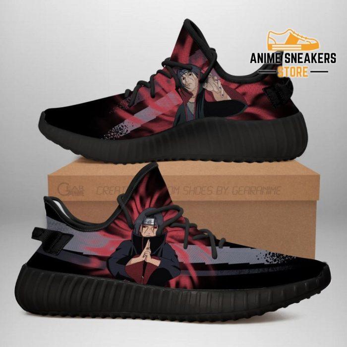 Itachi Jutsu Yeezy Shoes Naruto Anime Fan Gift Idea Tt03 Men / Us6