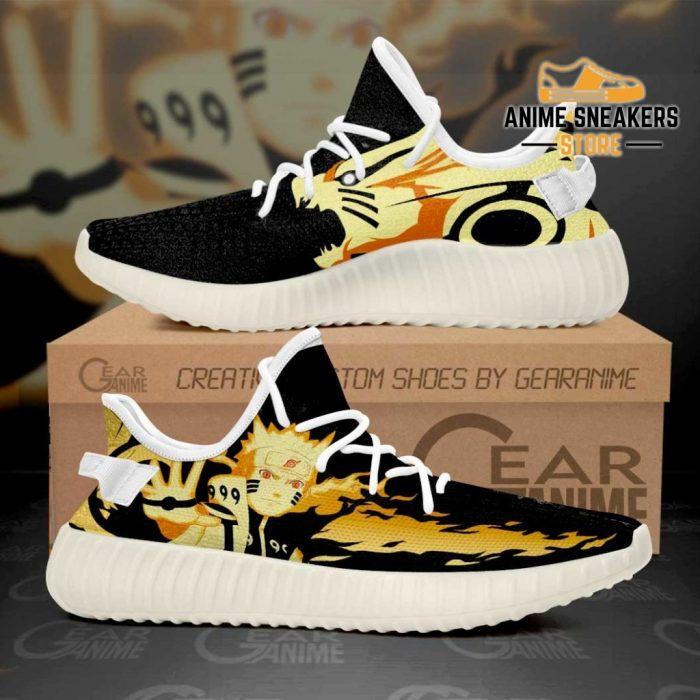 Naruto Kurama Shoes Anime Custom Tt11 Men / Us6 Yeezy
