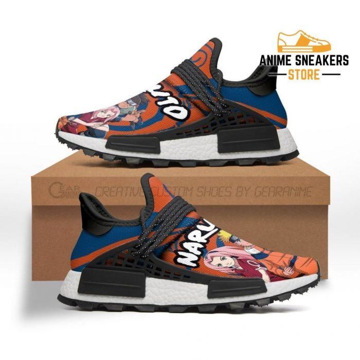 Naruto Shoes Characters Custom Anime Sneakers Men / Us6 Nmd