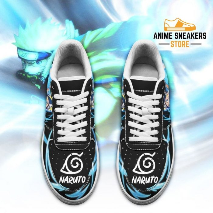 Naruto Sneakers Custom Skill Shoes Anime Leather Air Force