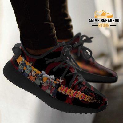 Naruto Yeezy Anime Sneakers Shoes Fan Gift Idea Tt04