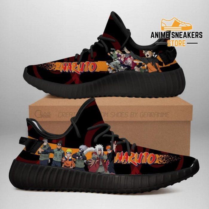 Naruto Yeezy Anime Sneakers Shoes Fan Gift Idea Tt04 Men / Us6