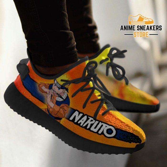 Naruto Yeezy Shoes Anime Sneakers Fan Gift Tt03