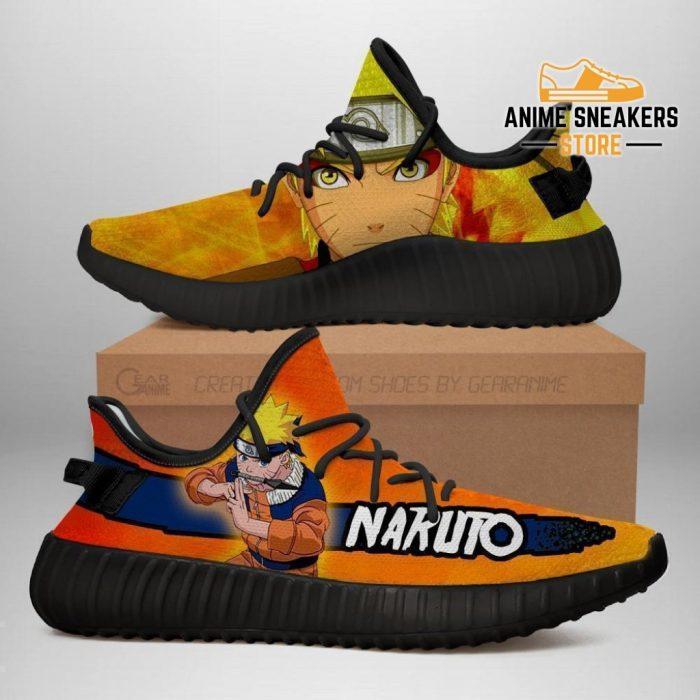 Naruto Yeezy Shoes Anime Sneakers Fan Gift Tt03 Men / Us6