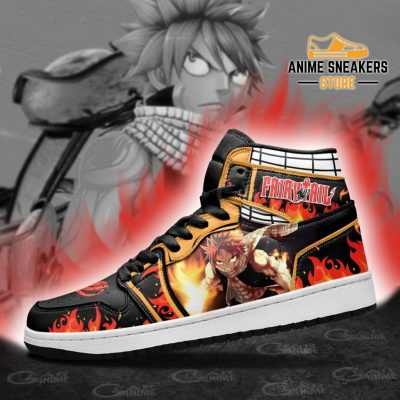 Natsu Dragneel Sneakers Fairy Tail Anime Shoes Mn11 Jd