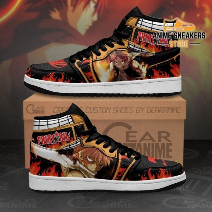 Natsu Dragneel Sneakers Fairy Tail Anime Shoes Mn11 Men / Us6.5 Jd
