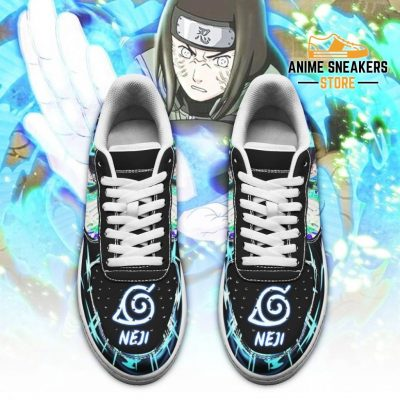 Neji Hyuga Sneakers Custom Naruto Anime Shoes Leather Air Force